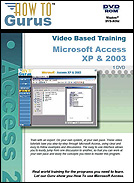 Microsoft Word, Excel, Access XP - 2003 Tutorial Training
