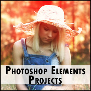 Adobe Photoshop Elements Projects Tutorial Click Here
