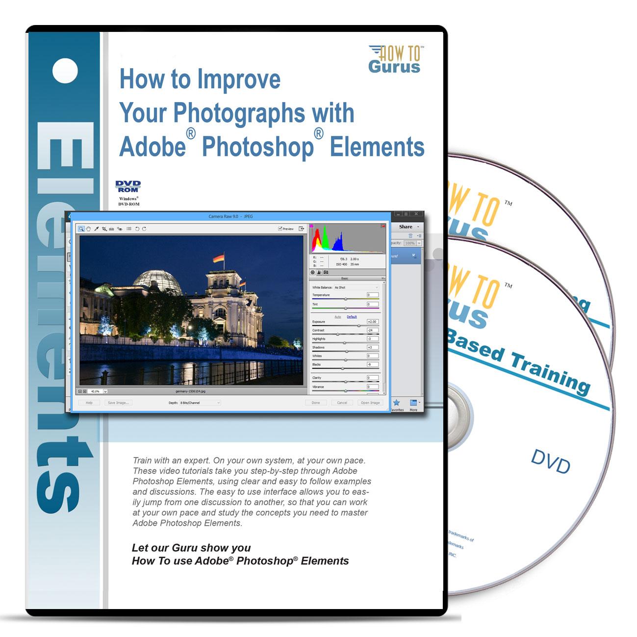 Improve your photographs with photoshop elements how to gurus baditri Images