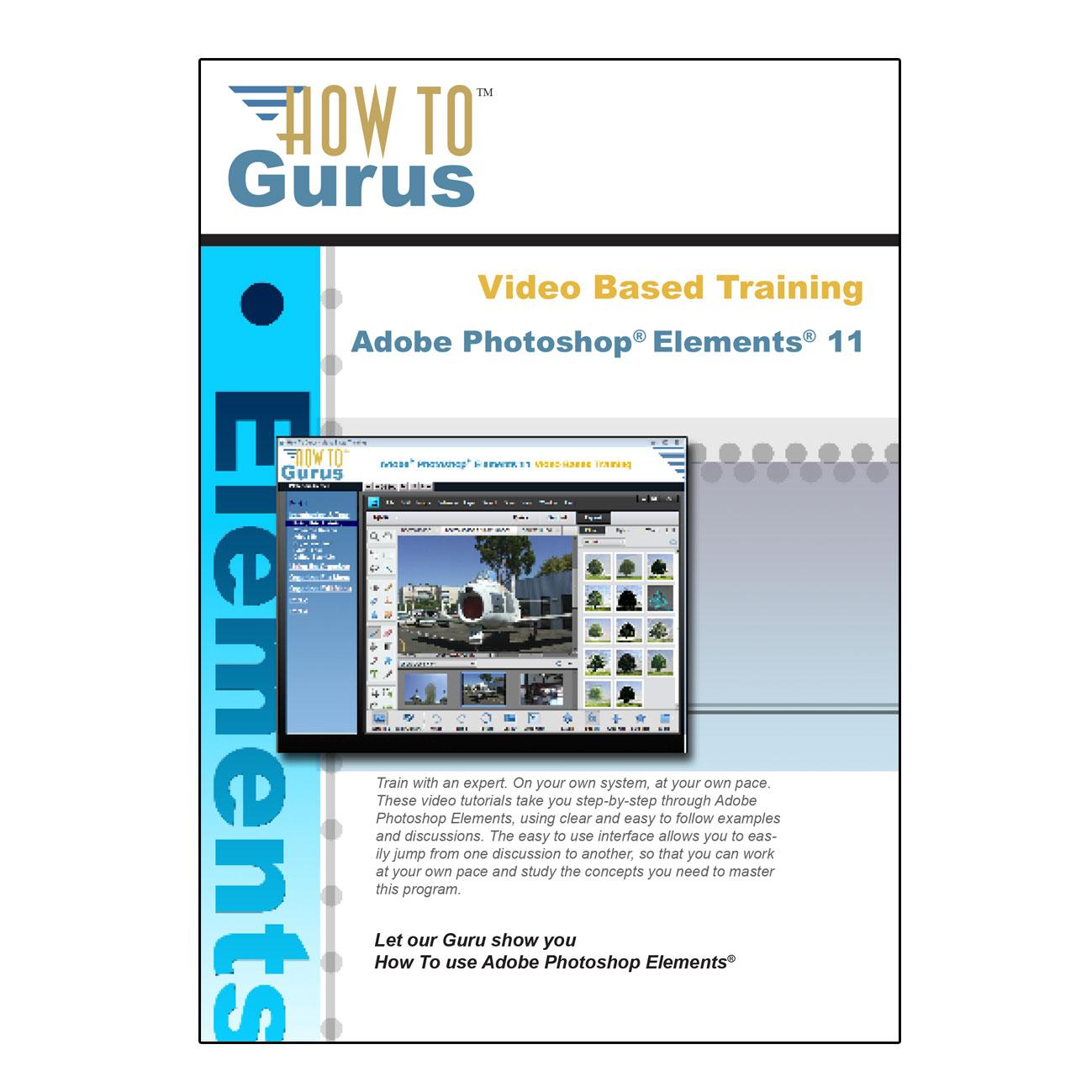 Photoshop elements 11 online course how to gurus baditri Choice Image