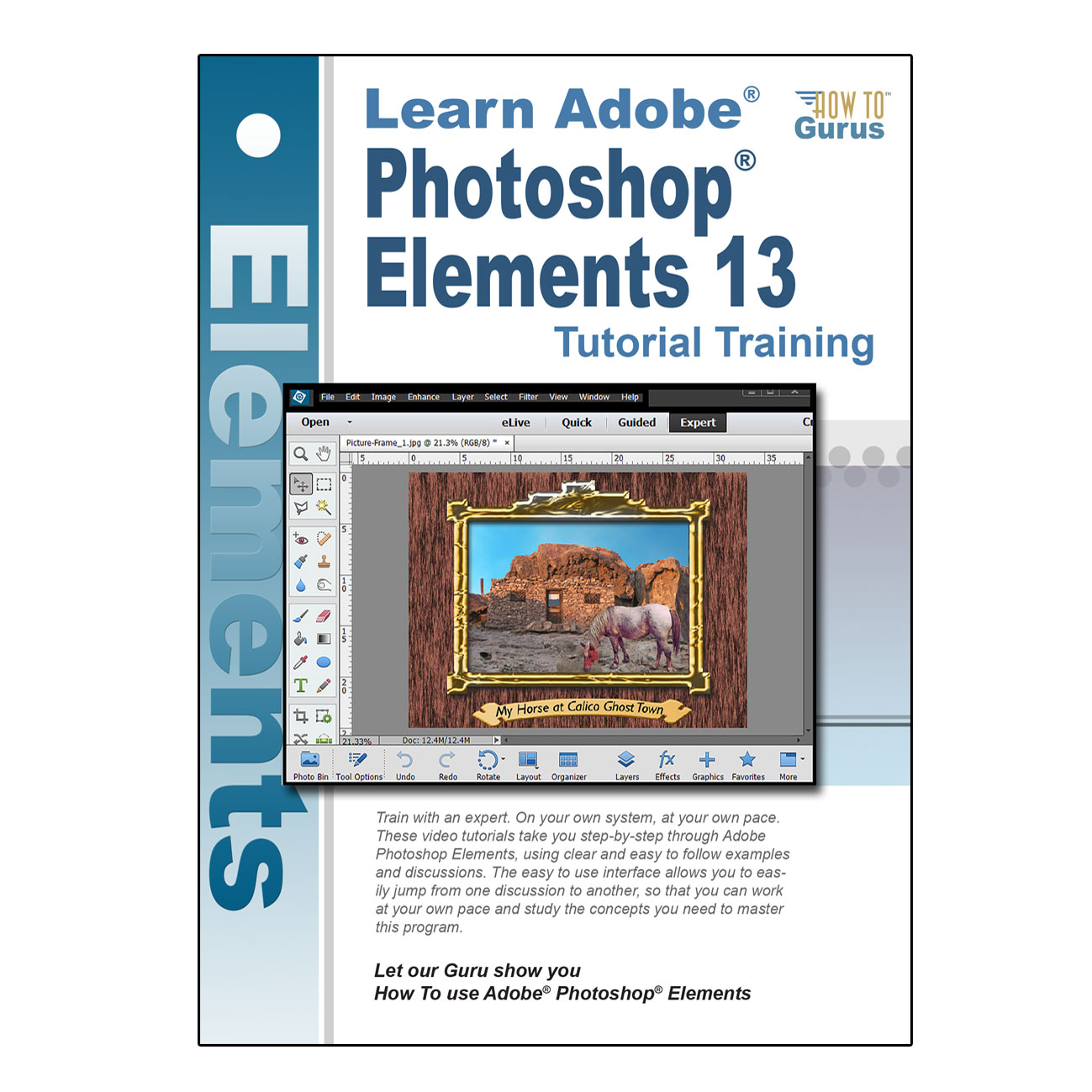 Photoshop elements 13 online course how to gurus baditri Image collections